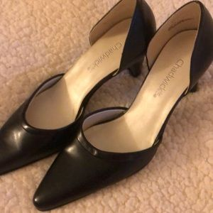 Chadwick black heels.        NWOT